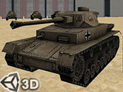 3D Army Tank Parking game