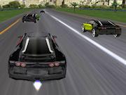 3D Bugatti Racing Icon