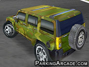 3D Hummer Racing Icon