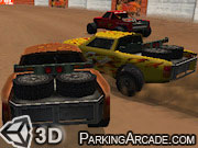 3D Mad Racers game