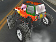 3D Urban Monster Truck Icon