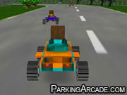 Play 8 Bits 3D Racing game