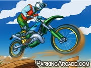 Adventure Bike Icon