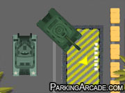 Army Vehicles Parking
