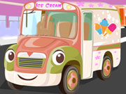 Ice Cream Truck Parking game