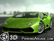 Lamborghini Hurricane Racing Game