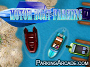 Motor Boat Parking game