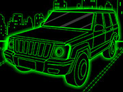 Play Neon Truck Parking game