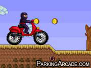 Ninja Motocross game