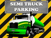 Semi Truck Parking game