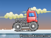 Play Snow Truck game
