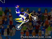 Stunt Bike Draw game