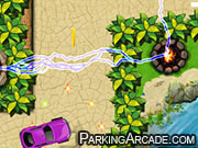 Tower Defense Car Parking game